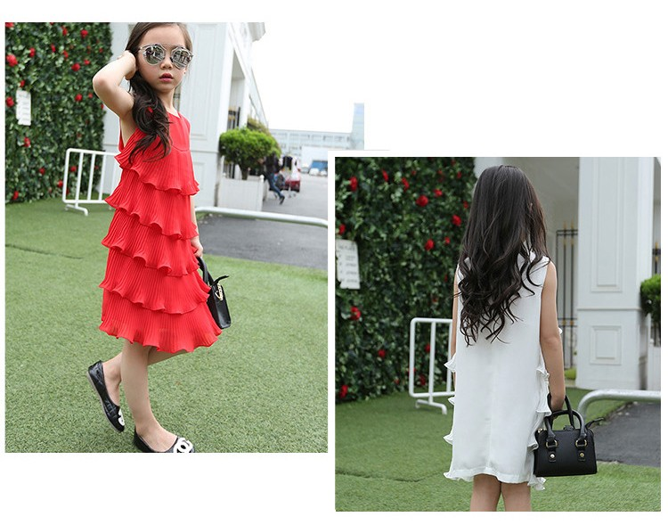 chiffon girls layered dress little teenage kids girl summer dress 2016 white red midi long dresses for girl clothes kids sundress 5 6 7 8 9 10 11 12 13 14 15 16 years old little teenage big girls dresses sleeveless children clothing (14)