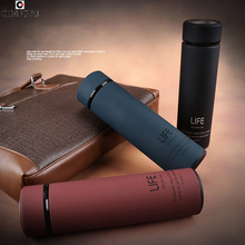 Simple style mode thermocup garder au chaud bouteilles isolation Coupe thermos bouteille d'eau thermomug tasse puissant tasses