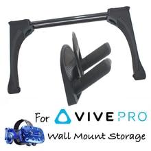 купить Virtual Reality Wall Mount Hook For HTC Vive or VIVE Pro Headset Controller VR Accessories VR Storage Stand rack по цене 1875.78 рублей