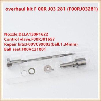 コモンレールオーバーホールキット F 00R J03 281 (F00RJ03281) ノズルキット F00R J03 281 0445120078,0445120393 、 00986AD1014