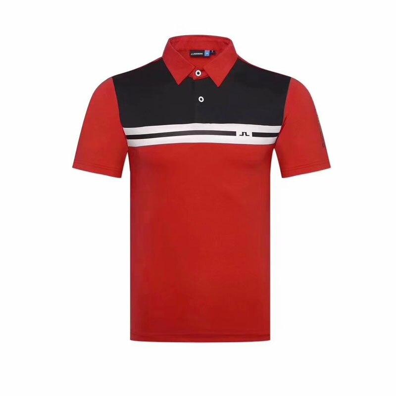 Chemise de Golf Cooyute dernier printemps été JL Golf sport chemise manches courtes anti-boulochage courte JL Golf T-Shirt livraison gratuite - 4