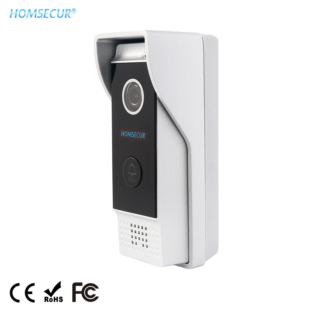 HOMSECUR 1.3MP BC031HD-B Outdoor Unit(Rust-proof Aluminum Alloy) With Waterproof Cover For HDK Series Door Phone