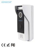 Unidad exterior HOMSECUR 1.3MP BC031HD B (aleación de aluminio a prueba de óxido) con cubierta impermeable para teléfono de puerta de la serie HDK|Teléfono de la puerta|Seguridad y protección -