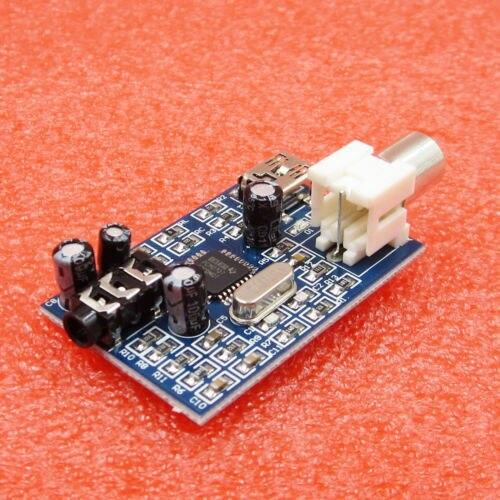 PCM2707 USB DAC звуковая карта совета модуль с S/PDIF порт звуковая карта доска