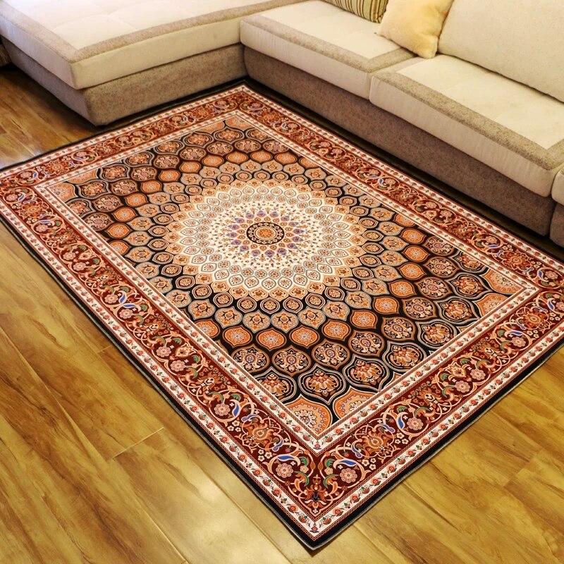 Большие размеры персидский ковер, Большие размеры гостиная журнальный столик ковер, прямоугольник землю коврик, классические украшения до...