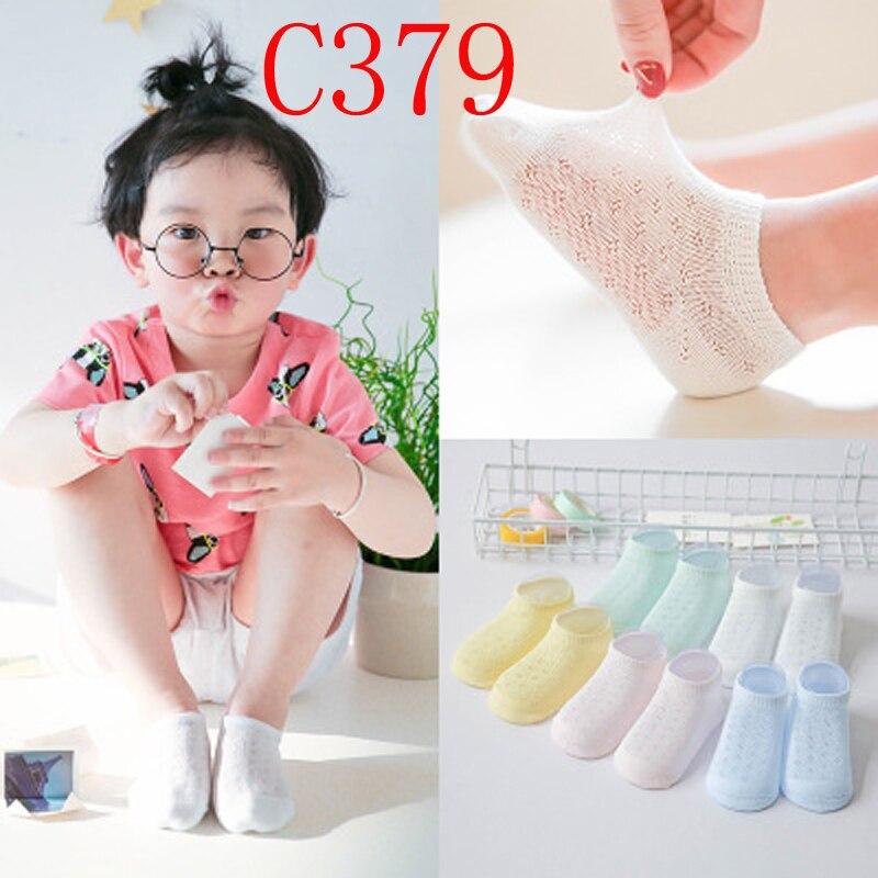 5 Pair/Lot Spring Summer Ultrathin Breathable 0-8Y Mesh Socks Toddler Newborn Infant Kids Socks Boy Girl Soft Cotton Baby Socks