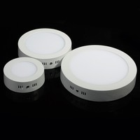 10pcs Dimmable Led Panel Light 6W 9W 12W 18W Surface Mounted Light 8inch High Lumens Downlight