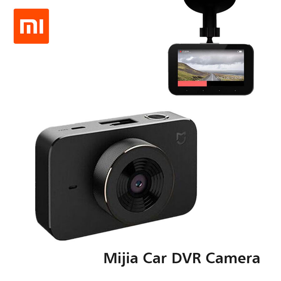 Original Xiaomi Mijia Car Recorder Smart DVR Carcorder F1.8 1080P 160 Degree Wide Angle 3 Inch HD Screen Carcorder Car Recorder