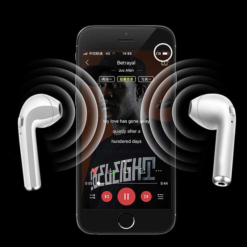 2019 LIGE nowa TWS Mini Bluetooth 5.0 słuchawki słuchawki Stereo Bass bezprzewodowy zestaw słuchawkowy słuchawki douszne z mikrofonem do telefonu xiaomi Samsung