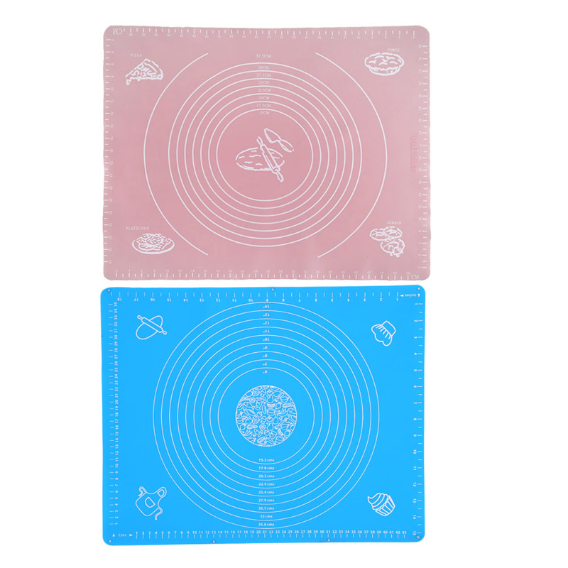 50 40cm Silicone Mat Baking Cakes Pans Silicone Pad Table