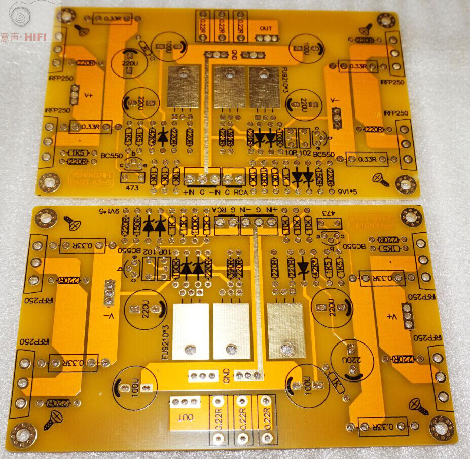 150w Class Ab Audio Power Amplifier Board Pcb Based On Symasym5 3 In Fm Circuit Boardpcb Assemblycar Radio Usb Am 1 Pair Of Base For A Single Ended Pass A3 Hifi