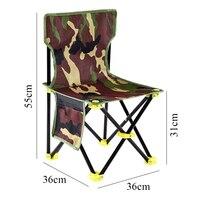 1 adet hafif sırt çantası kamp taşınabilir katlanır balıkçı sandalyesi Oxford tarafından yapılan örtüsü 36cm * 36cm * 31cm * 59cm|Balıkçılık Sandalyeleri|   -
