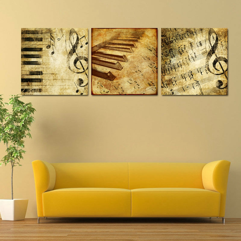 Home Decor Canvas Prints Painting Modular Wall Art Tower Poster 5 ...