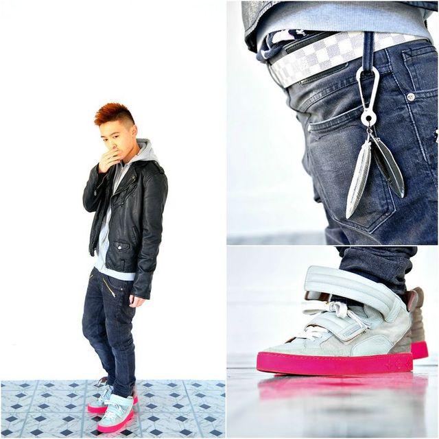more photos f02f6 59921 Man Kanye West Jasper Suede Double Strap High Top Sneaker Men Jasper X Kanye  West Don Yeezy Shoes Pas cher