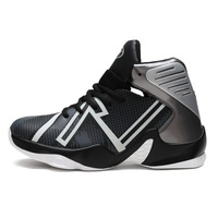 basketballing shoes men Sports luminous wearable and comfortable young basketball training shoes