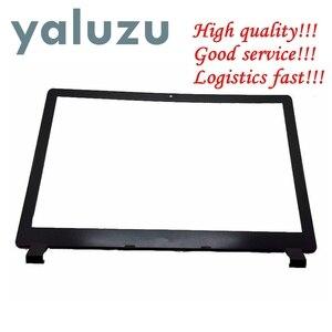Yaluzu novo portátil lcd caso moldura para acer aspire V5-552 V5-552PG V5-552G V5-572 V5-572G V5-572PG V5-573 V5-573G capa traseira preto