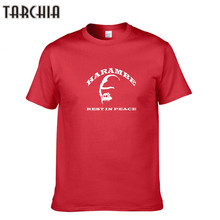 TARCHIA Brand Clothing High-Quality Men T-Shirt Fashionable 2018 Summer Men Slim T-Shirts Men'S Short Sleeve Fitnesst TShirt