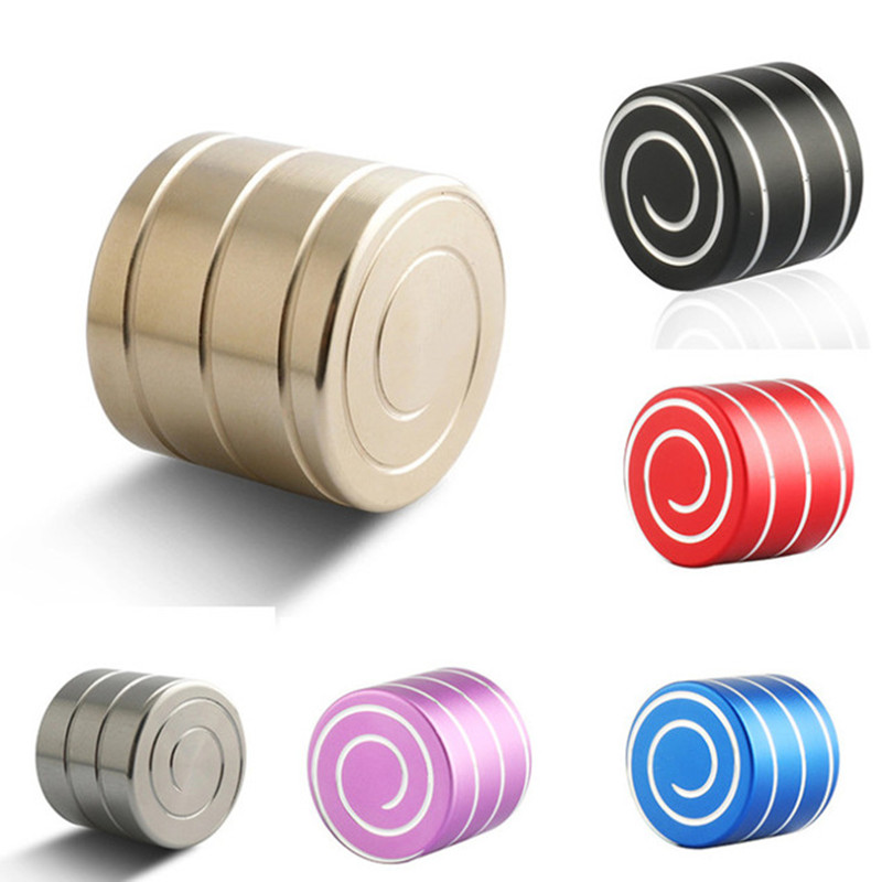 Colorful Metal Gyro Kinetic Desk Toys For Children Gift Inception Adult Ant-stress Stress Relief Toy Fidget Roller
