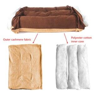 Image 5 - 大型犬のベッド暖かいペット子犬ハウスクッションソフト小屋の巣ソファマット毛布中大犬ゴールデンレトリバーラブラドールビッグ