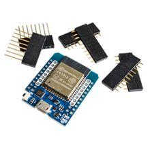 10 יח\חבילה לחיות D1 מיני ESP32 ESP 32 WiFi + Bluetooth אינטרנט של דברים פיתוח לוח המבוסס ESP8266 באופן מלא פונקציונלי