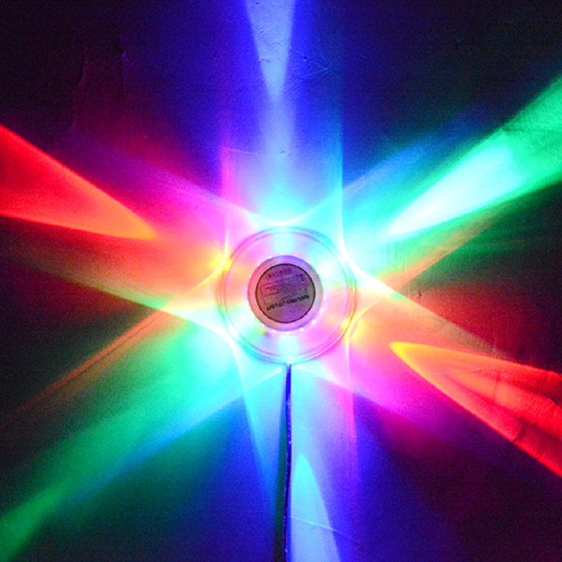 TRANSCTEGO Mini Laser Disco Stage Light 48 Led RGB Proyector - Iluminación comercial - foto 2