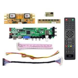 Image 2 - HDMI VGA AV USB ATV DTV LCD drive Board Work for M215HW01  M215HW03  HM215WU1 LM215WF1  LM230WF1  LTM230HT01   MT230DW01