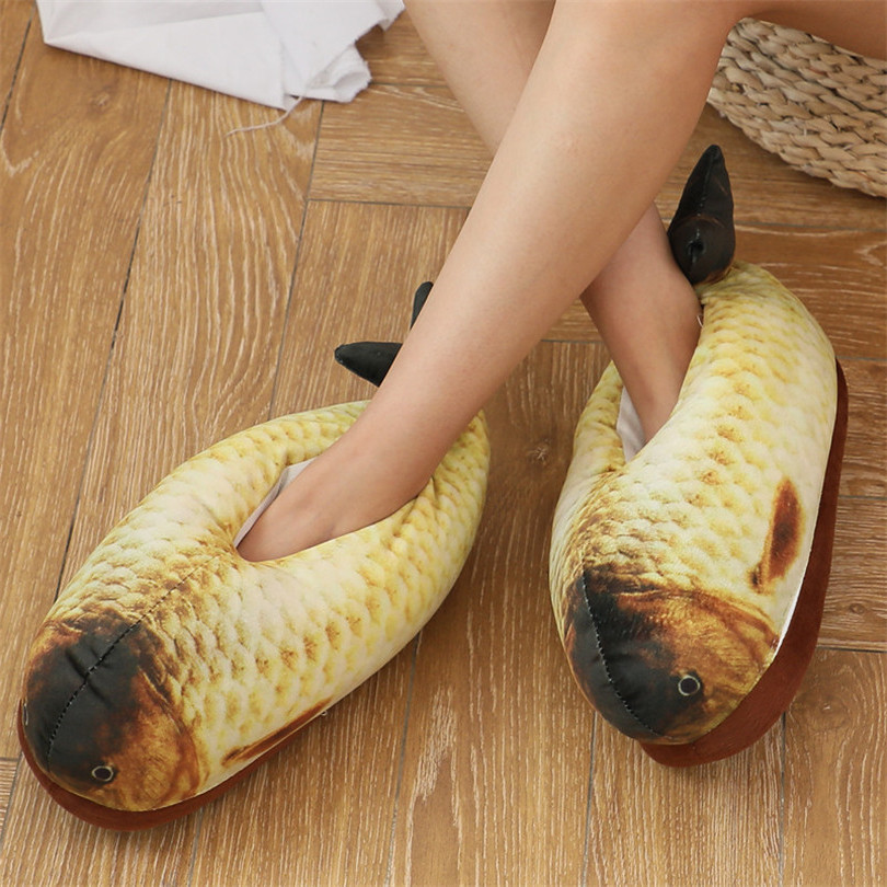 Unisex Fish Indoor Slippers