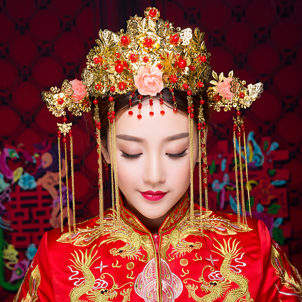 Gorgeous Phoenix Coronet Wedding Headpieces Jewelry