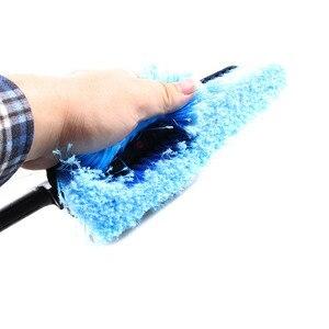Image 2 - 새로운 블루 세차 브러쉬 호스 어댑터 청소 물 스프레이 자동차 청소 브러시 차량 트럭 세척 케어 액세서리