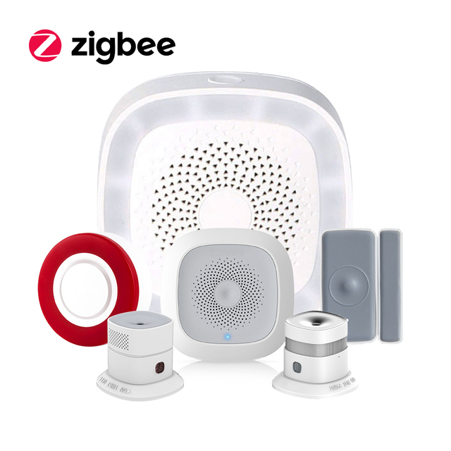 Long Range Home Security Alexa Voice Control 2.4Ghz Zigbee Best Whole Home Automation System