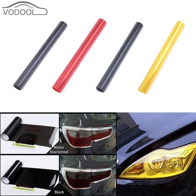 30 120cm Car Styling Light Change Color Film Fog Lamp Headlamp