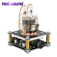 Nobsound Mini FU32(832A) صمام مُضخّم صوت هاي فاي ستيريو Preamp سطح المكتب أنبوب سماعة أذن Amp