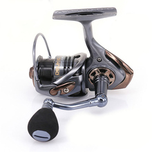 High Quality Spinning Fishing Reel 2000 3000 Series Metal 6BB Sea Fish Wheel  Boat Tackle