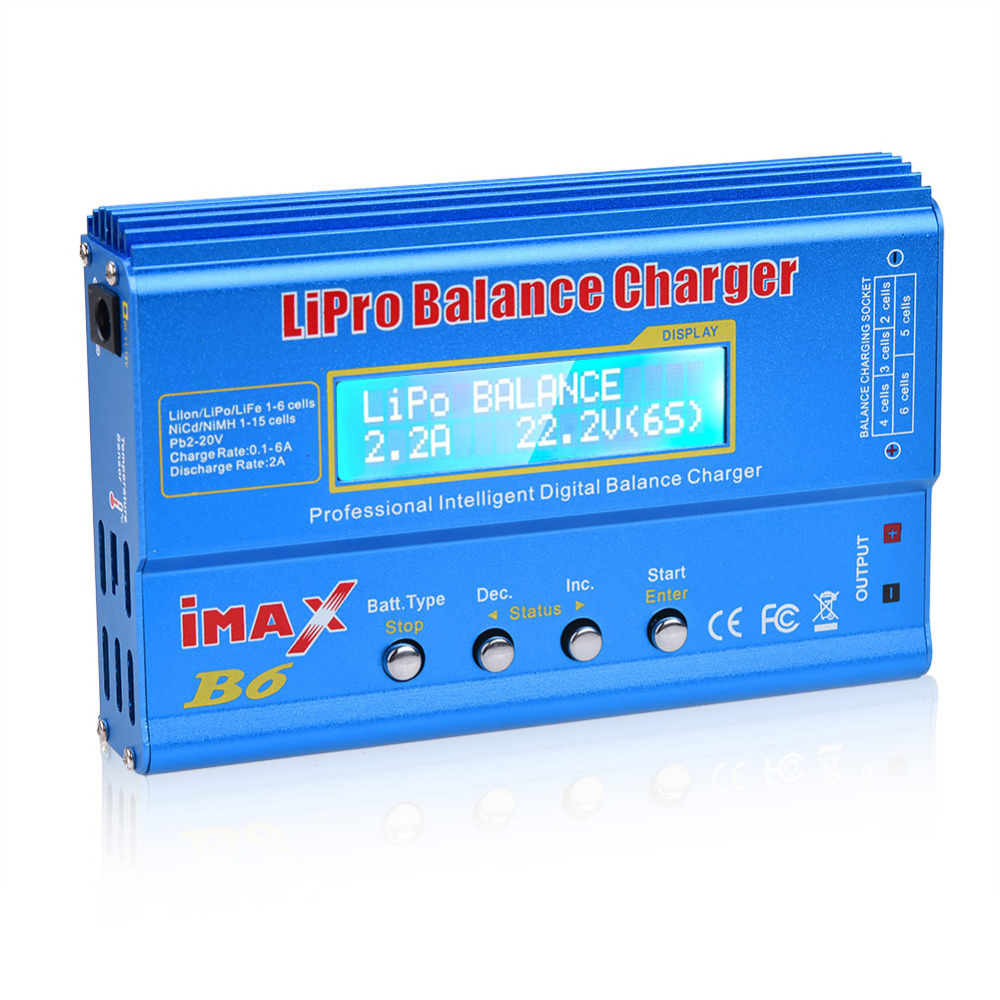IMAX B6 Multi-function Drone Battery Chargers RC Battery Professional Balance Charger Balance Discharger With Digital LCD Screen