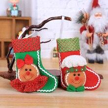 Веселый пряник человек Рождественские украшения носки дерево рождественское подвесное украшение для искусственный цветы c918