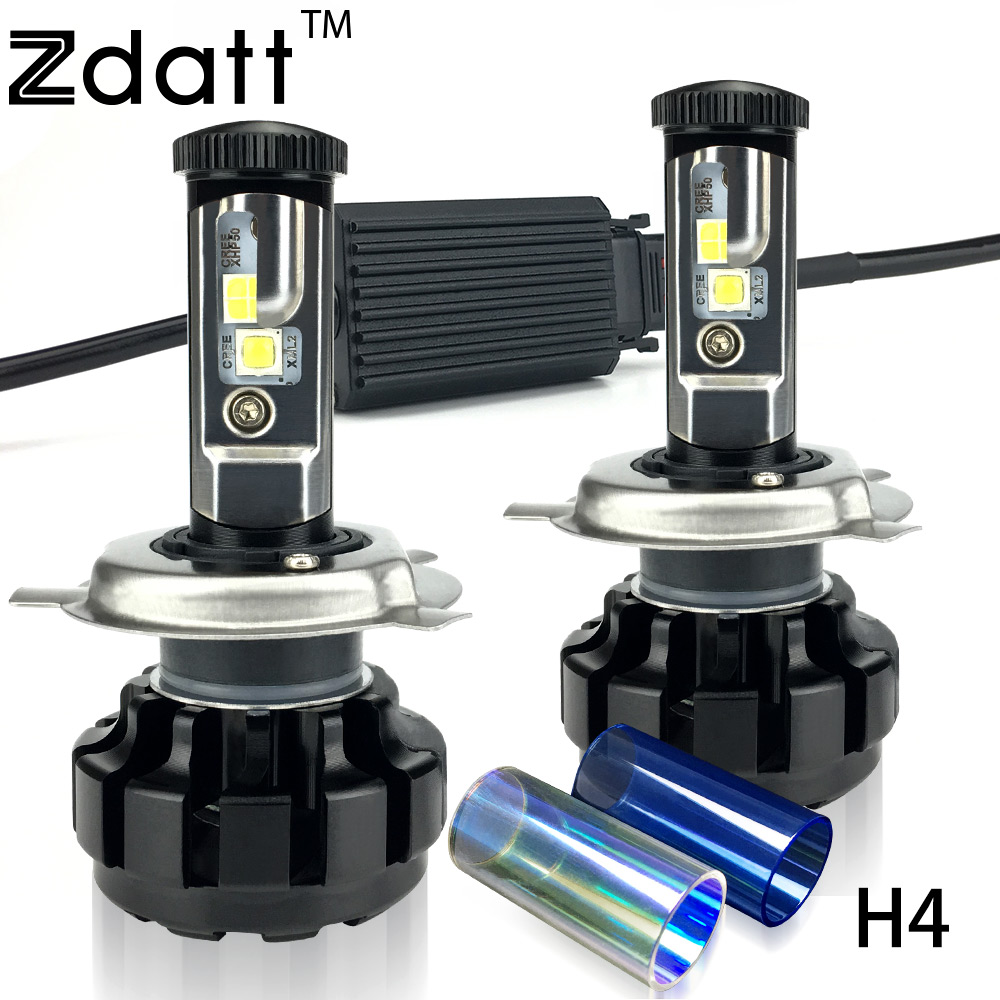2Pcs Super Bright H4 Led Bulb 100W 12000LM Headlight Canbus H7 H8 H9 H11 9005 HB3 Car Led Light 12V Hi Lo Beam Fog Automobiles