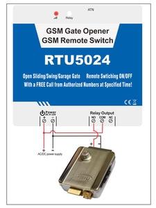 Image 5 - وحدة تحكم في الوصول بالتحكم عن بعد بمدخل وحدة GSM لمستخدمي Badodo 200 باب كهربائي عن طريق الرسائل القصيرة GSM 3G بوابة فتاحة RTU5024