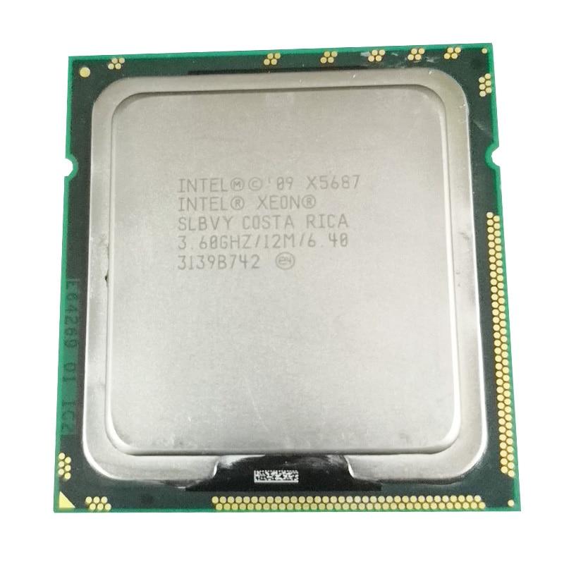 Intel Xeon X5687 Quad-Core  LGA1366 130W Desktop CPU 100% Working Properly Desktop Processor