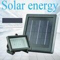 Alto brillo Li-ion batería Auto-sensing control Solar lámpara de luz led de iluminación al aire libre luces solares para el jardín decoración