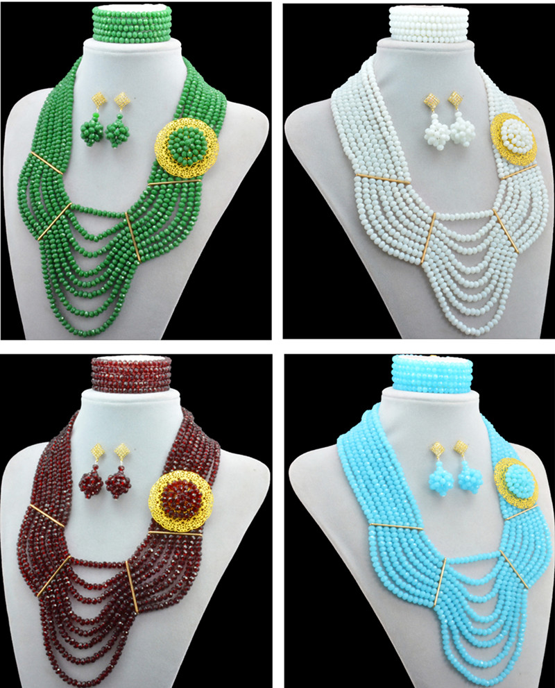 2016 Latest design African Nigerian Indian beads Traditional ...