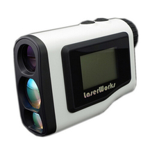 Cheaper handheld Golf rangefinder 600m LCD display scope hunting laser range finder monocular waterproof 3 colors free shipping