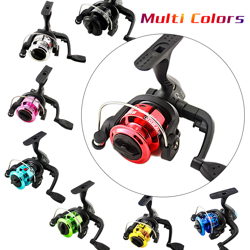 Mounchain 3 Axis Fishing Reel Aluminum Body Spinning Reel 5.1:1 Speed Ratio Left/Right Hand Fishing Wheel Fishing Line Whee