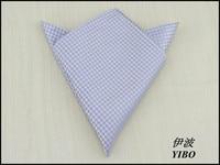 1 Pcs Lot 100 Silk Men S Pocket Square White Plover Pattern Design Gentleman Necessary