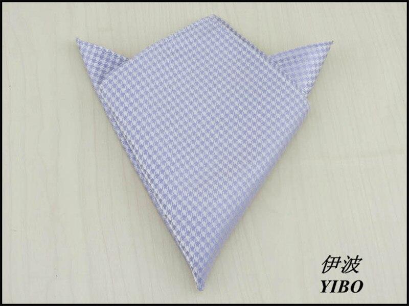 (1 Pcs/lot) 100% Silk Men's Pocket Square/White Plover Pattern Design/Gentleman Necessary Beige Handkerchief,free Shipping