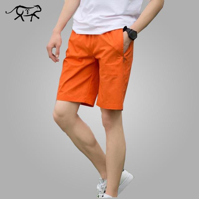 1285fd4b29 2018 nuevo verano Casual Shorts hombres algodón moda estilo Mens Shorts  Bermudas marca playa más tamaño