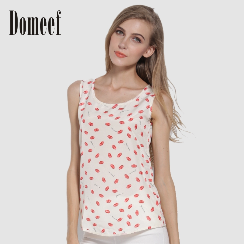 2017 New Summer Fashion Sleeveless Women Shirts Ca...