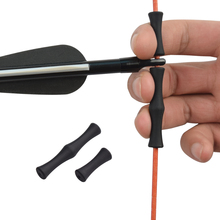 1pc Archery Guard Bowstring Finger Saver Tab e flecha Silicon Release Bow Recurve Free Shipping