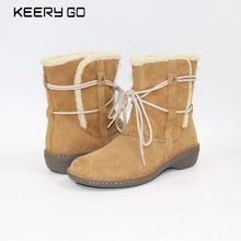 High-grade leather, warm cotton, comfortable boots, a variety of multi-color