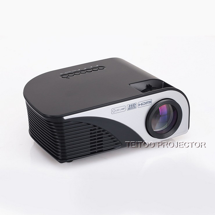 800 Lumens Home Theater Mini Portable Led Multimedia: Portable Mini LED Digital HD Movie Projector 2200 Lumens