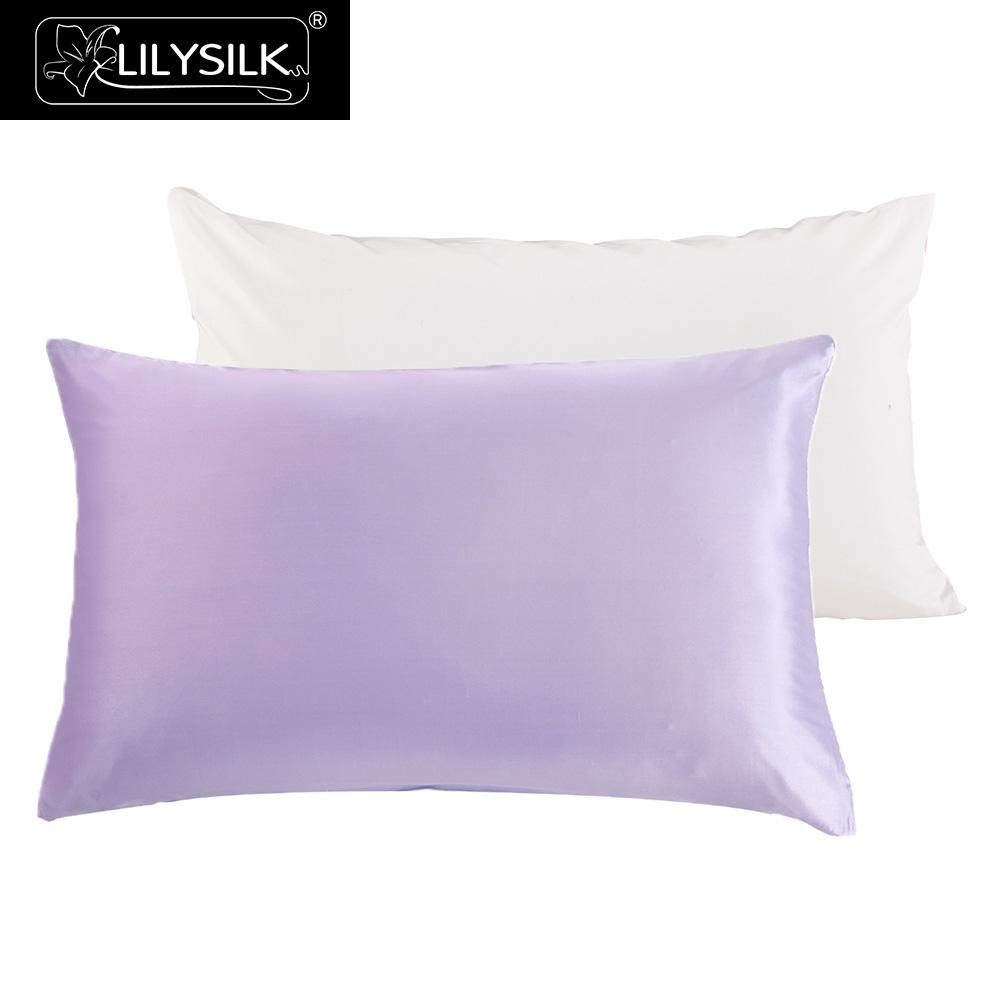 Aliexpress Com Buy Lilysilk Silk Pillowcase With Cotton